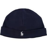 Picture of Ralph Lauren 320552454 baby hat navy