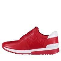 Afbeelding van Michael Kors 43T8ALFS1A dames sneakers rood