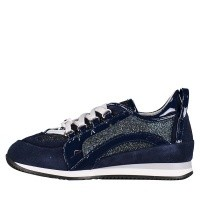 Picture of Dsquared2 57106 kids sneakers navy