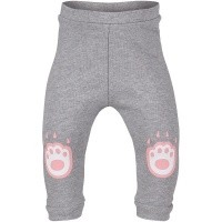 Picture of Kenzo KM24003 baby pants light gray