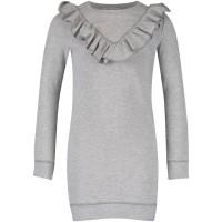 Afbeelding van NIK&NIK G5266 kinder jurk grijs
