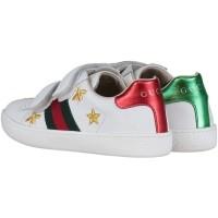 Afbeelding van Gucci 504499 kindersneakers wit