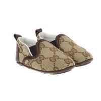 Afbeelding van Gucci 388905 babyschoen bruin