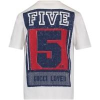Afbeelding van Gucci 498006 kinder t-shirt wit