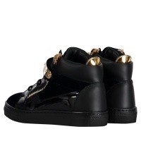 Picture of Guiseppe Zanotti SBI8 kids sneakers navy