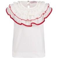 Afbeelding van MonnaLisa 311624 baby t-shirt off white