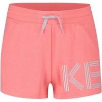 Afbeelding van Kenzo KL26018 kinder shorts fluor roze