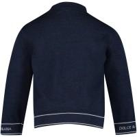Afbeelding van Dolce & Gabbana L14K27 baby trui navy