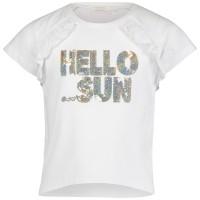 Afbeelding van Liu Jo K18094 kinder t-shirt wit