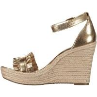 Afbeelding van Michael Kors 40S8BLHS1M dames sandalen goud