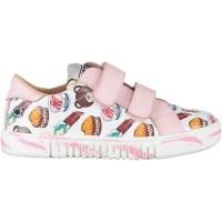 Afbeelding van Moschino 25984 kindersneakers licht roze