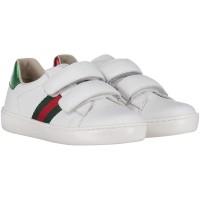 Afbeelding van Gucci 455447 CPWP0 kindersneakers wit