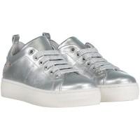 Afbeelding van Coccinelle 8122 kindersneakers zilver