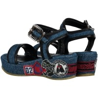 Picture of Dsquared2 54168 kids sandal jeans