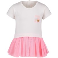 Afbeelding van Billieblush U05250 baby t-shirt off white