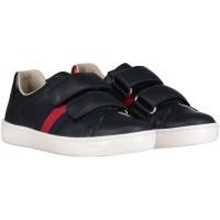 Afbeelding van Gucci 455448 CPWP0 kindersneakers navy