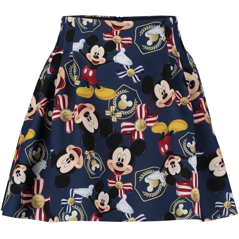 Picture of MonnaLisa 112705 kids skirt blue