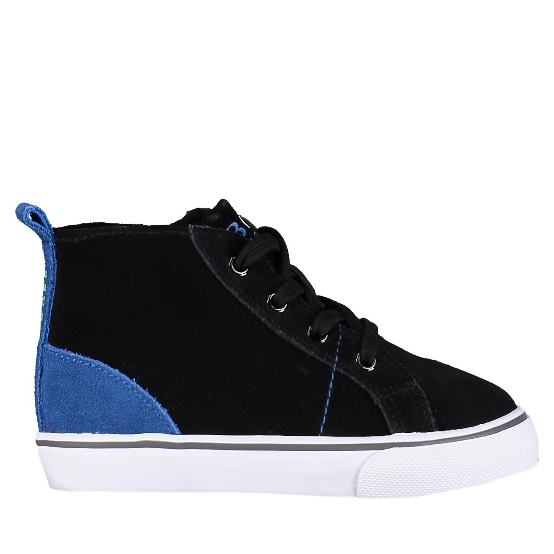 Picture of Boss J09101 kids sneakers black
