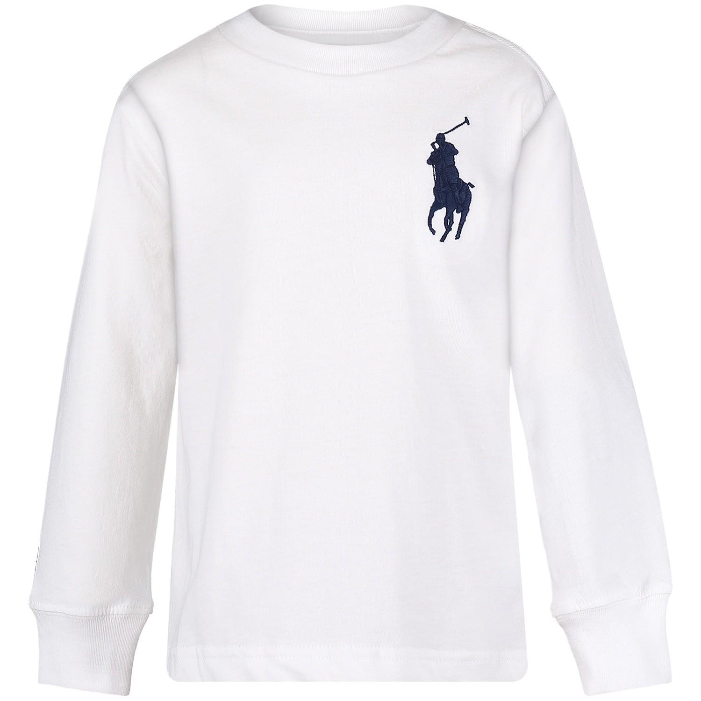 Picture of Ralph Lauren 321703647 kids t-shirt white