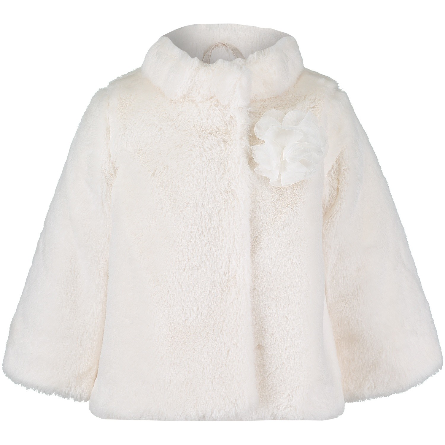 Picture of Liu Jo H68016 baby coat off white