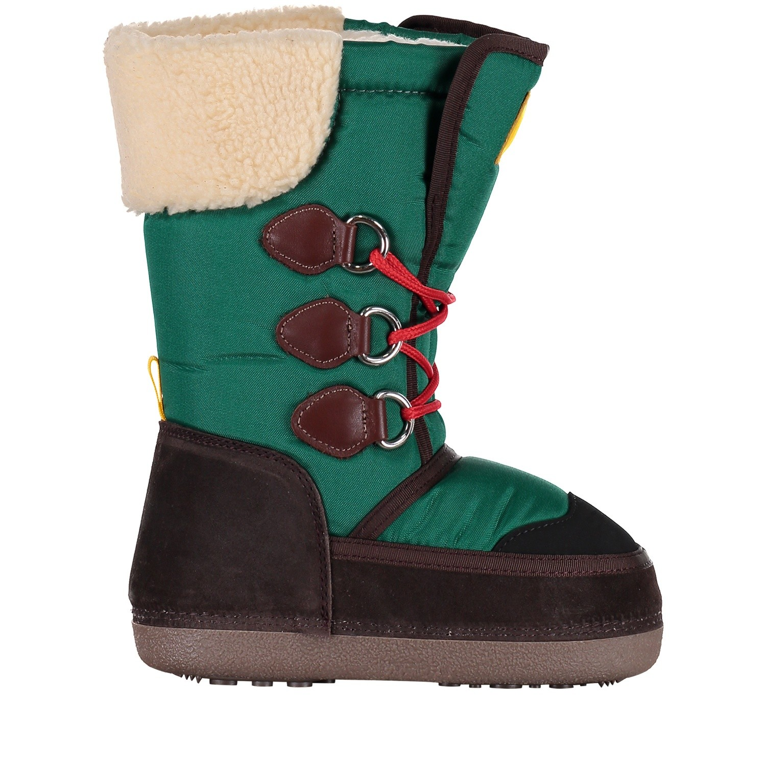 Picture of Dsquared2 57209 kids snowboots green