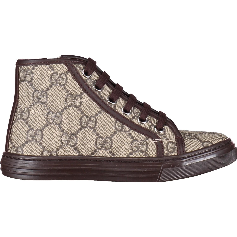 Afbeelding van Gucci 459836 kindersneaker bruin
