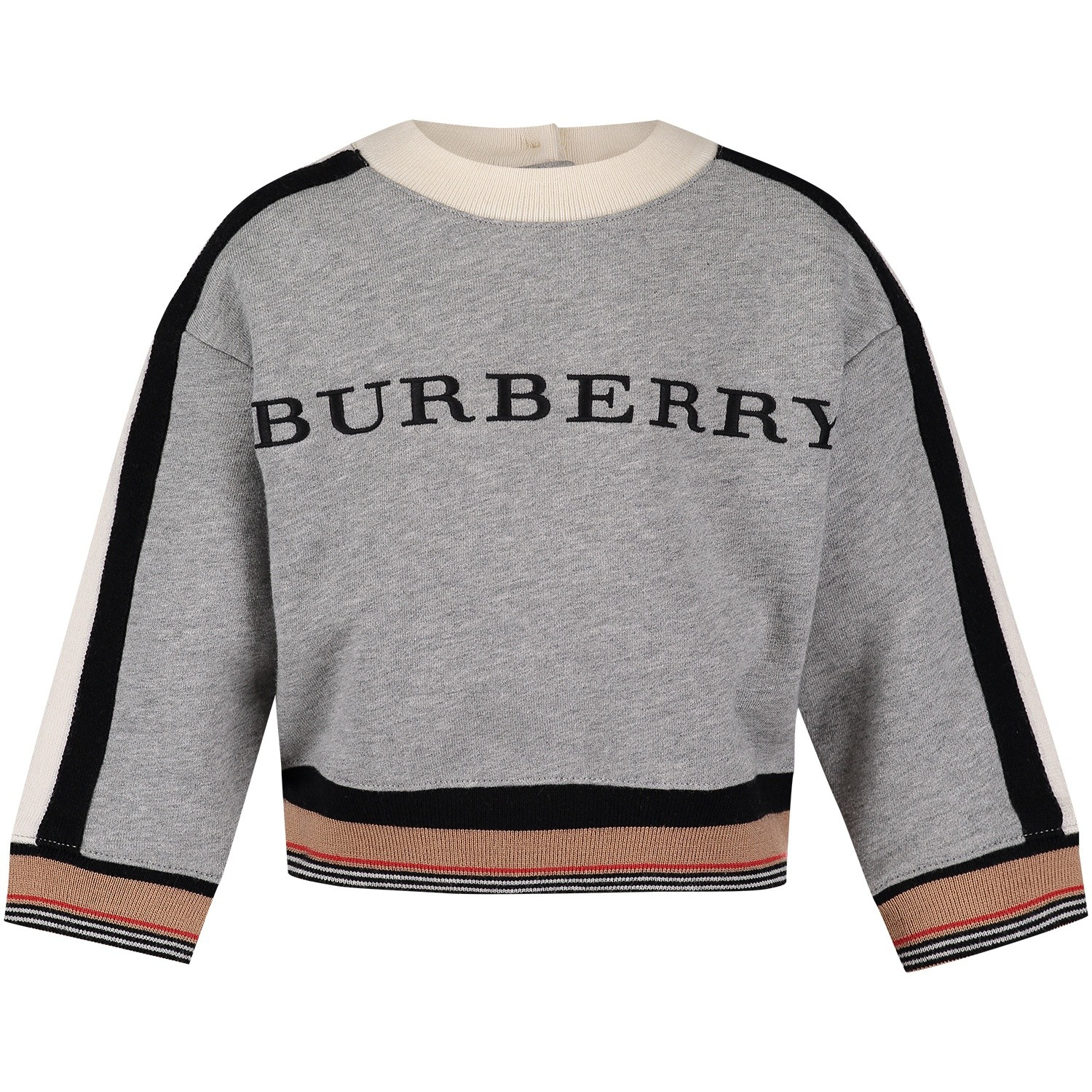 Picture of Burberry 8001724 baby sweater gray