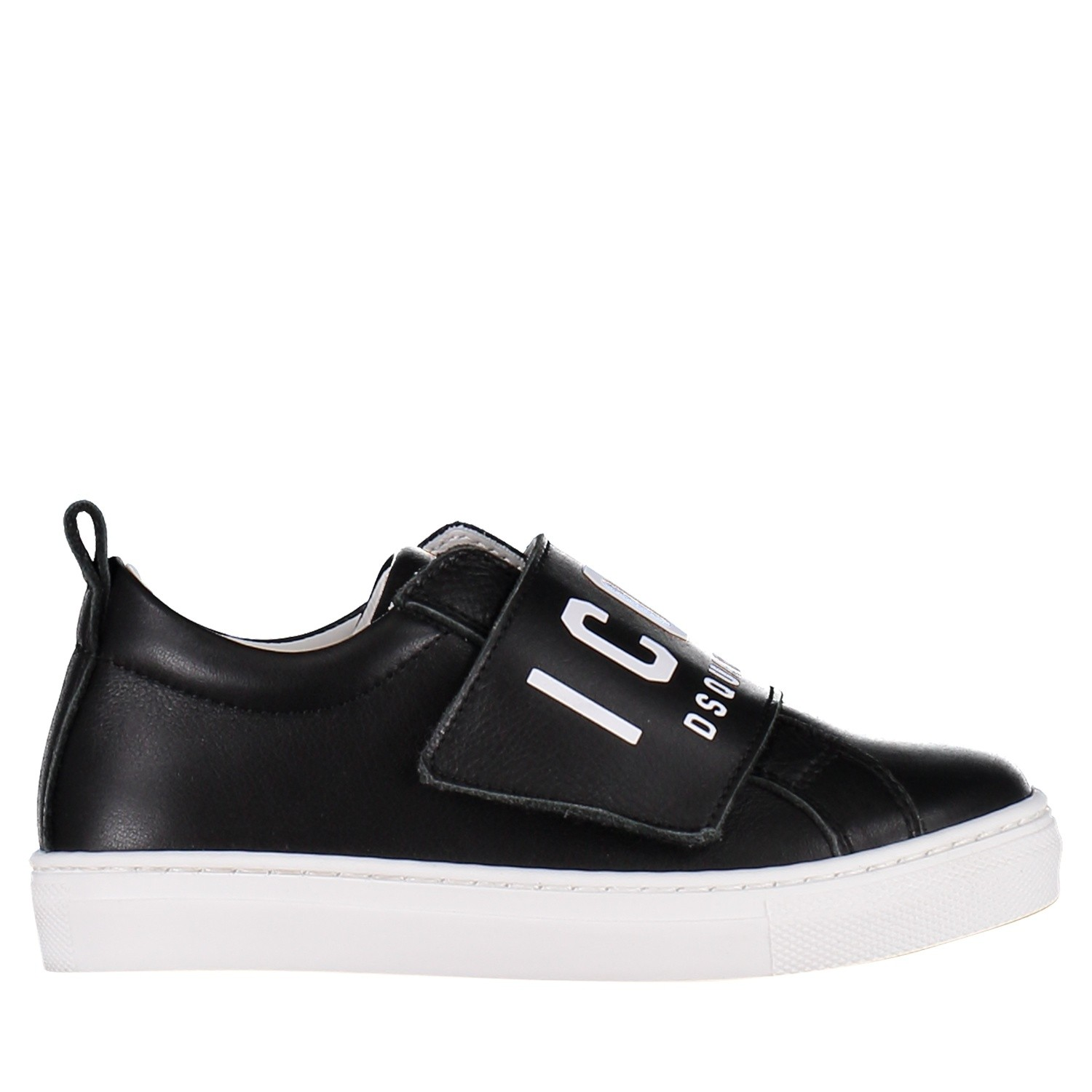 Picture of Dsquared2 57112 kids sneakers black