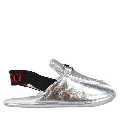 Picture of Gucci 526104 baby sneakers silver