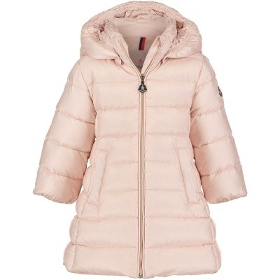 Picture of Moncler 4937205 baby coat light pink