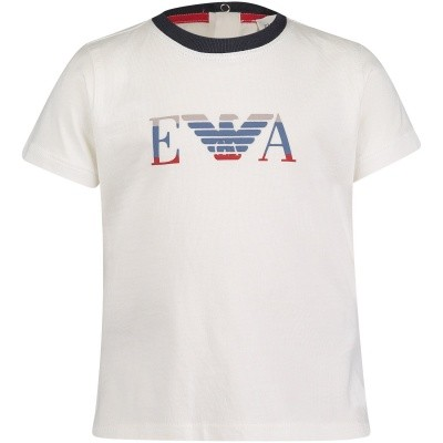 Afbeelding van Armani 6ZHT01 baby t-shirt off white