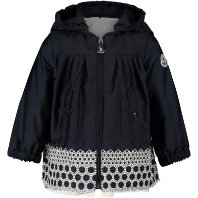Picture of Moncler 4618605 baby jacket navy