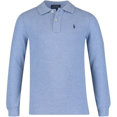 Picture of Ralph Lauren 321703634 kids polo shirt blue