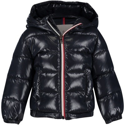Picture of Moncler 4183605 baby coat navy
