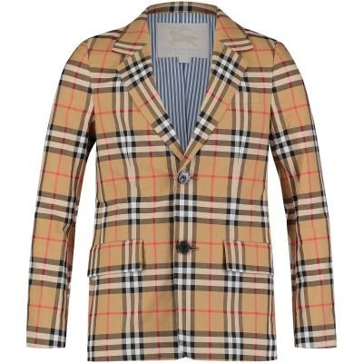 Picture of Burberry 8002394 kids jacket beige