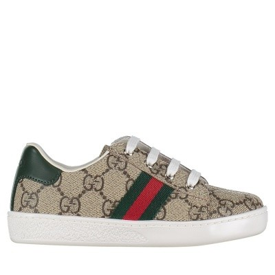 Picture of Gucci 433147 9C210 kids sneakers brown