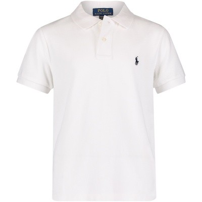 Picture of Ralph Lauren 323547926 kids polo shirt white