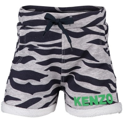 Picture of Kenzo KL25537 Joggingshort gray