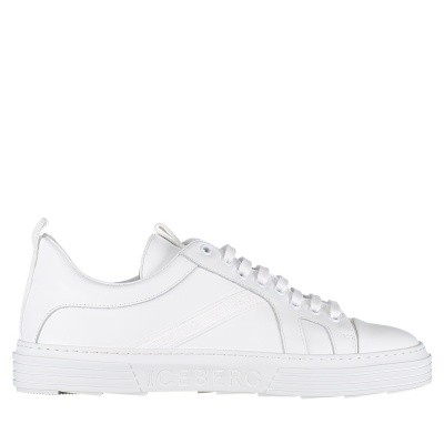 Picture of Iceberg IU1036 mens sneakers white