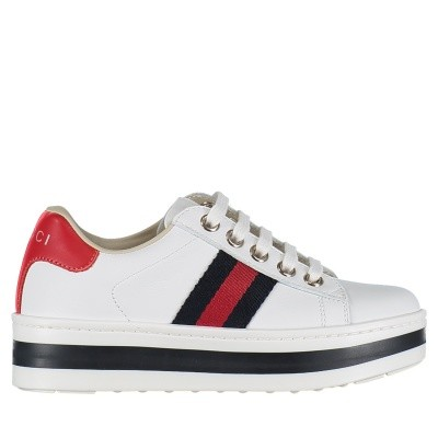Picture of Gucci 526158 kids sneakers white
