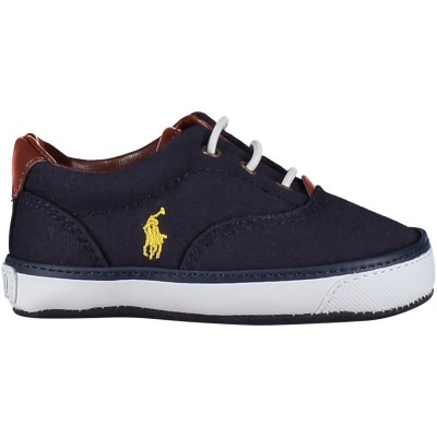 Picture of Polo Ralph Lauren RL100239 baby sneaker navy