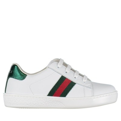Picture of Gucci 433146 CPWE0 kids sneakers white