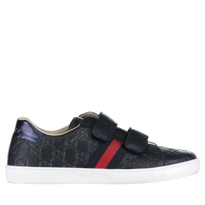 Picture of Gucci 455496 DF720 kids sneakers navy