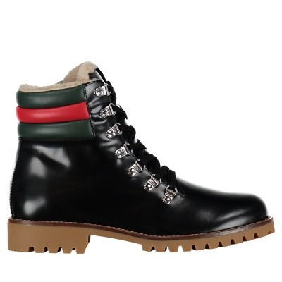 Picture of Gucci 484447 D7330 kids boots black
