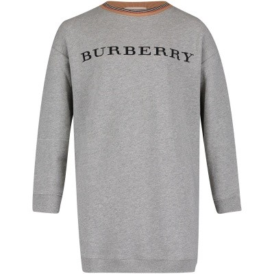 Picture of Burberry 8002935 kids dress gray
