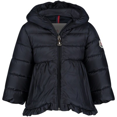 Picture of Moncler 4683905 baby coat navy
