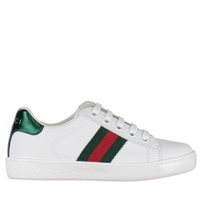Picture of Gucci 433148 CPWE0 kids sneakers white