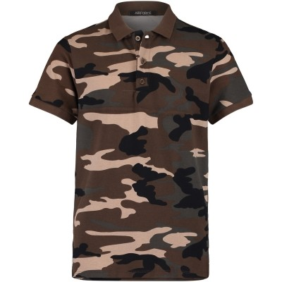 Picture of Airforce FR81B0225 kids polo army