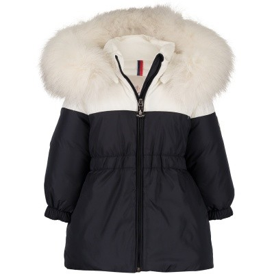 Picture of Moncler 4992325 baby coat navy