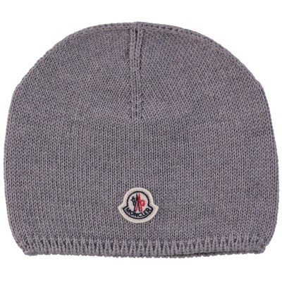 Picture of Moncler 9921305 baby hat grey